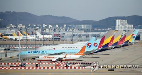统计:2020年韩国航空客运量创20年来新低