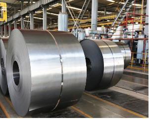 资料图片:不锈钢板卷 产业通商资源部供图(图片严禁转载复制)