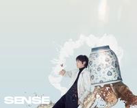 李准基登中国时尚杂志《SENSE》封面