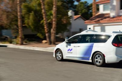 现代合资公司Motional在普通公路进行无人驾驶车辆试运行。 Motional供图(图片严禁转载复制)