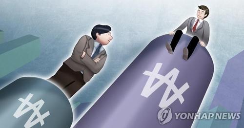 统计:2019年韩国工薪族月均收入1.8万元