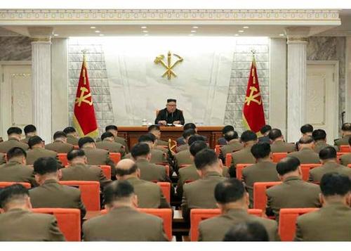 金正恩主持召开中央军委扩大会议