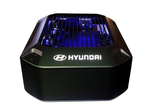 现代汽车氢燃料电池 现代汽车供图(图片严禁转载复制)
