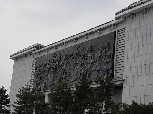 中国吉林省延边的延吉博物馆 韩联社