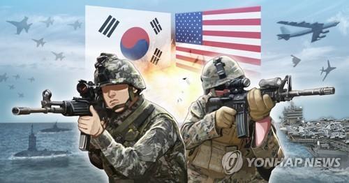 韩美联演明起实施 作战指挥能力评估延至8月