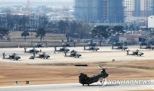 韩美联演将部分实施未来联合司战区作战预演