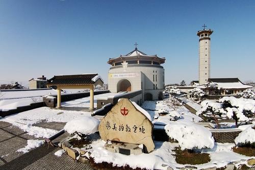 韩国瑞山海美殉教圣地成为天主教国际圣地