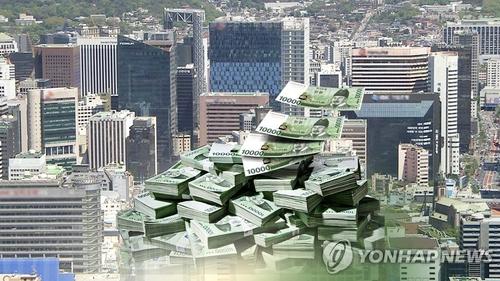 韩家庭贷款首超5.7万亿元 2月环比增383亿元