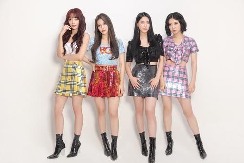 女团Brave Girls四年前热曲《Rollin'》席卷韩主流排行榜