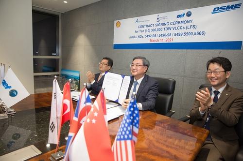 韩大宇造船成功拿下价值63亿元超大型油轮订单