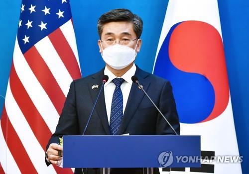 韩防长:将继续加强韩日和韩美日安全合作