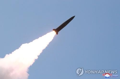 消息:朝鲜最近所射导弹为近程巡航导弹