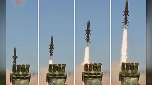 详讯:朝鲜发射两枚弹道导弹 射程450公里