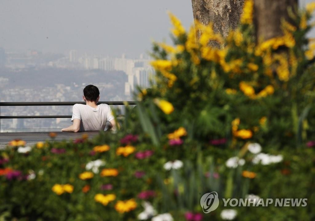 资料图片:首尔南山 韩联社
