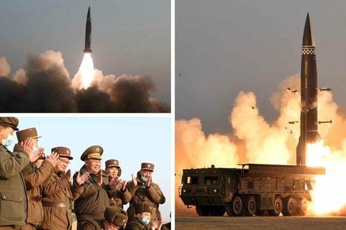 朝媒称昨试射新战术导弹 金正恩未现场观摩