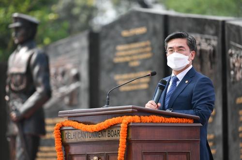 韩印度防长会谈共商国防军工合作