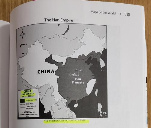 美国教材误标韩国古代国家疆域为中国领土