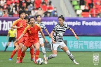 韩女足不敌中国未能晋级东京奥运