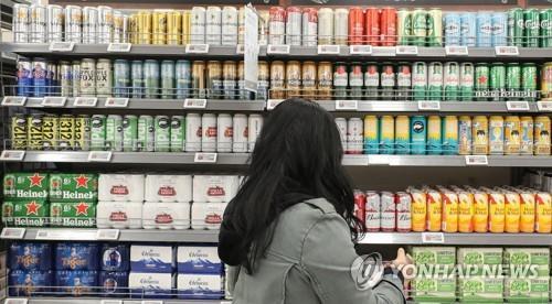 统计:韩朝日啤酒经销商去年销售额同比减72.2%