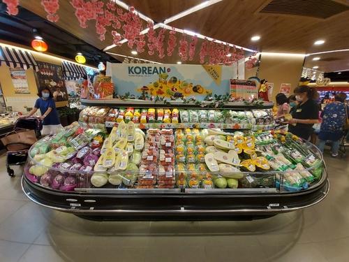 韩产草莓今年一季对香港出口额同比增54%