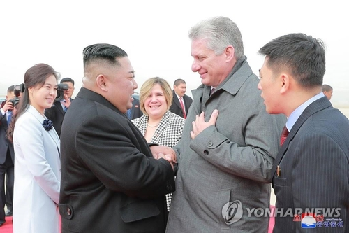 金正恩向古巴共产党第一书记致生日贺电