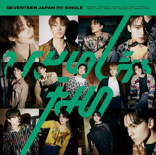 SEVENTEEN《Not Alone》登顶日本公信榜周榜