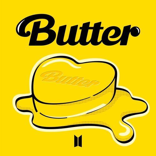 数字单曲《Butter》封面图 BIGHIT MUSIC供图(图片严禁转载复制)