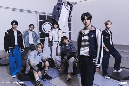 ENHYPEN迷你二辑登顶日本公信榜周榜