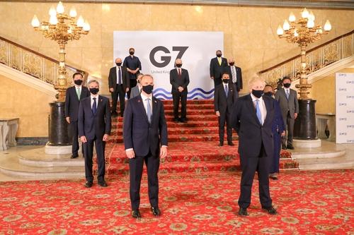 韩外长郑义溶出席G7外长会呼吁公平分配疫苗