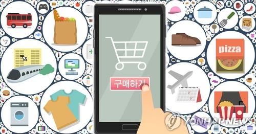 统计:韩国3月网购交易额同比增26%