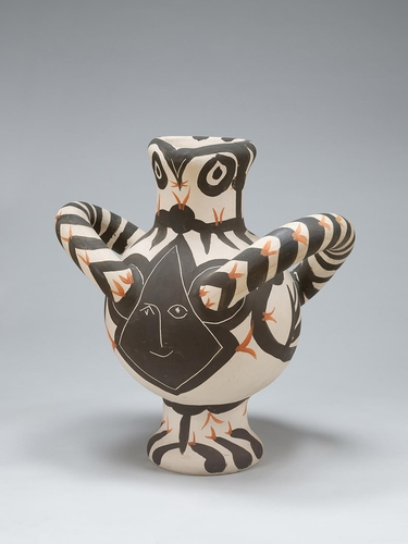毕加索陶器作品 国立现代美术馆供图(图片严禁转载复制)