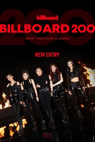 ITZY新辑跻身公告牌专辑榜第148位