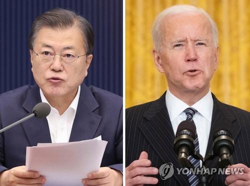 韩青瓦台:韩美首脑会谈重点谈疫苗经贸合作