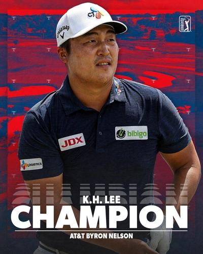 韩国高球手李京勋夺美巡首冠