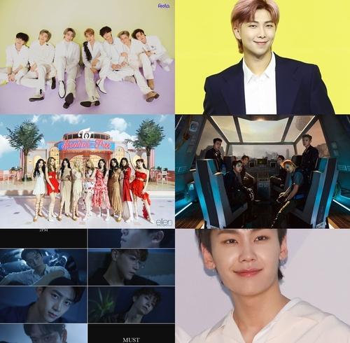 一周韩娱:防弹新歌连续两周登顶公告牌 EXO发特辑