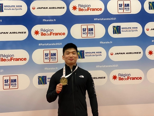 韩空手道运动员朴熙俊获东京奥运出线权