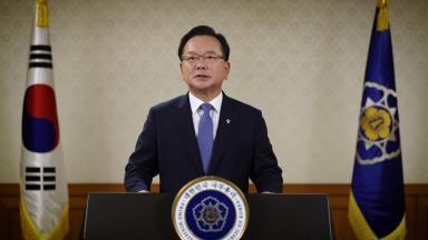 韩国务总理出席联合国全球契约组织视频会议