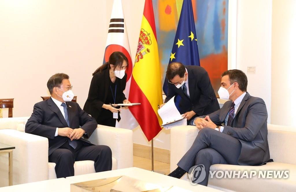 韩西领导人商定将两国关系升格为战略伙伴关系