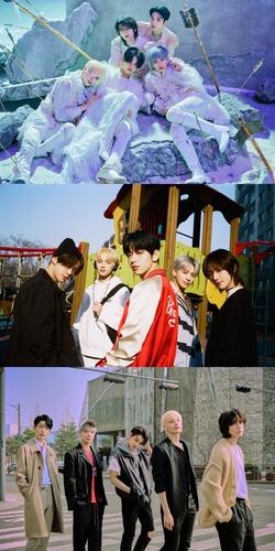 TXT正规二辑登顶日本公信榜专辑榜