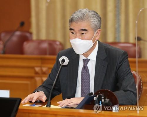 美国公布对朝代表星·金访韩消息