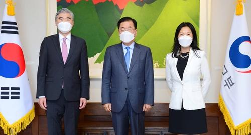 韩外长会晤美国对朝代表星·金