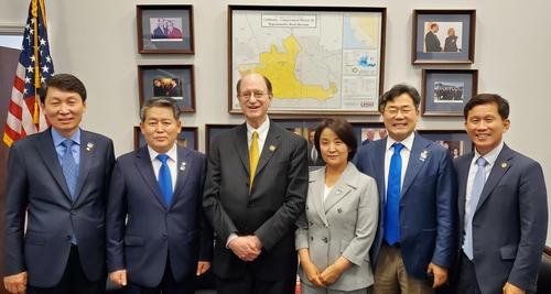 韩国国会议员团访美开展外交活动