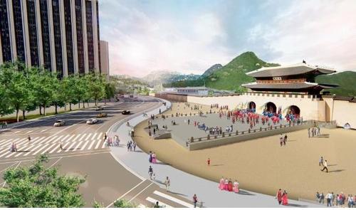 首尔光化门广场明年4月将以新貌亮相