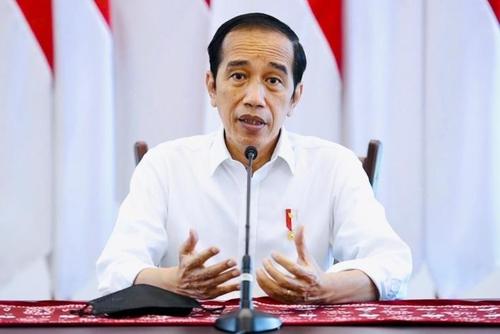 资料图片:印尼总统佐科·维多多 韩联社/印尼总统府供图