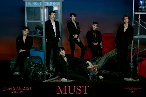 2PM《MUST》宣传照 JYP娱乐供图(图片严禁转载复制)
