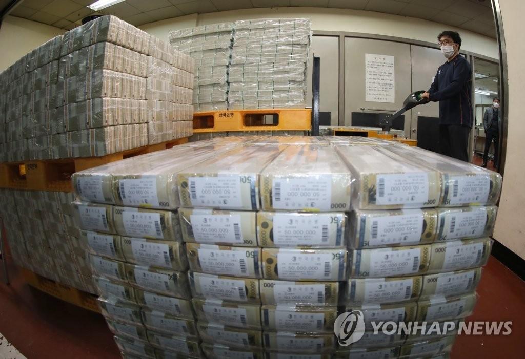 韩6月外储4541亿美元环比减24亿美元