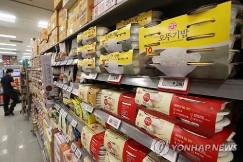 韩国上半年农业食品出口41.5亿美元刷新高