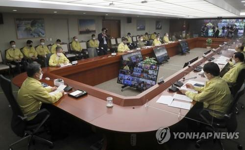 韩军指挥官开会讨论根治性犯罪对策