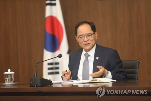 资料图片:韩国驻越南大使朴鲁完 韩联社
