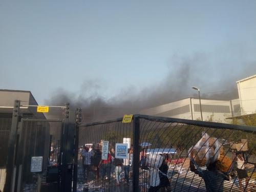 南非暴动殃及当地韩企 LG工厂遭纵火